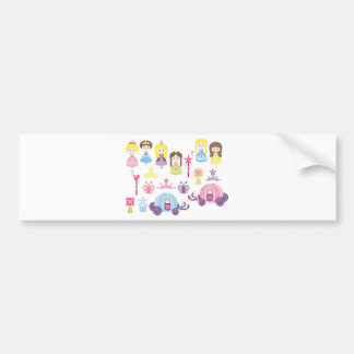 FairyTale1 Bumper Sticker