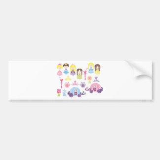 FairyTale1 Bumper Sticker