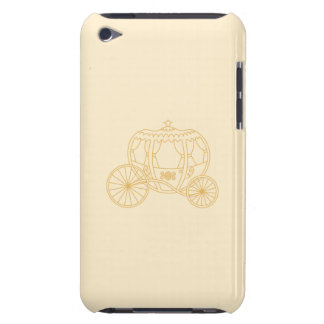 Fairytale Carriage Design in Beige and Tan Colors. iPod Case-Mate Case