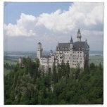 Fairytale Castle Cloth Napkin