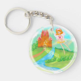 fairytale castle Key Ring