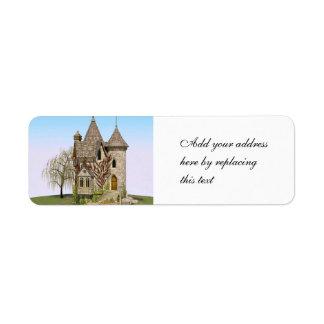 Fairytale Castle Label