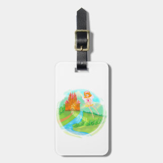 fairytale castle Luggage Tag