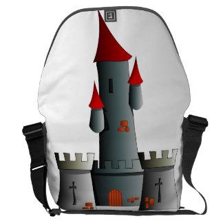 Fairytale Castle Messenger Bags