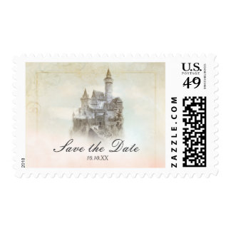 Fairytale Castle Storybook Page Princess Postage