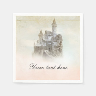 Fairytale Castle Storybook Princess Party Napkins