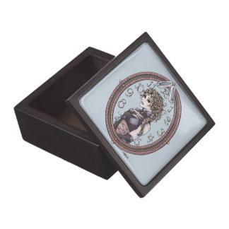 "Fairytale ""Cinderella"" Fantasy Art Trinket Box"