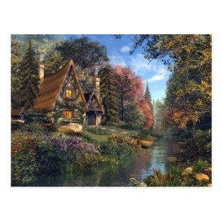 Fairytale Cottage Postcard