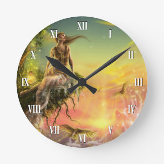 Fairytale Dawn Wall Clock
