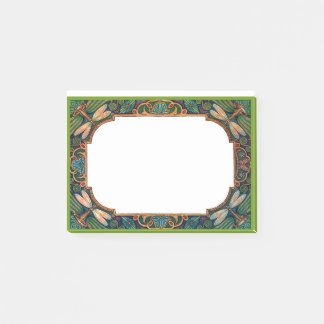 Fairytale Dragonfly Border Post-it Notes