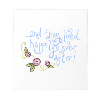 FAIRYTALE ENDING NOTEPADS