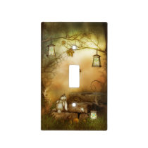 Fairytale Forest Light Switch Cover