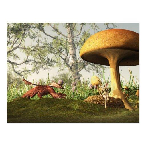 Fairytale Forest Postcard