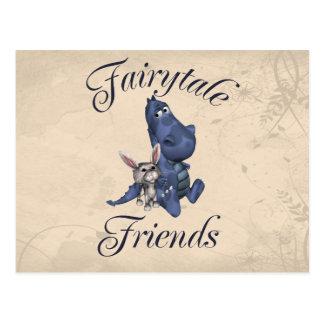 Fairytale Friends Postcard