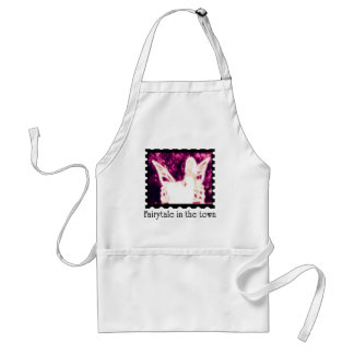 Fairytale in the town adult apron