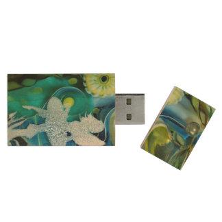 Fairytale, magic Design, photography, colorful Wood Flash Drive