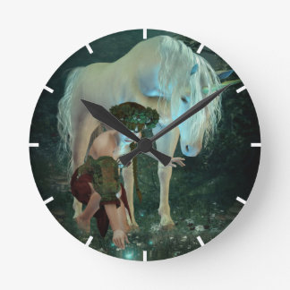 Fairytale Magic Wall Clock