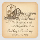 Fairytale Medieval Castle Once Upon Wedding Seal