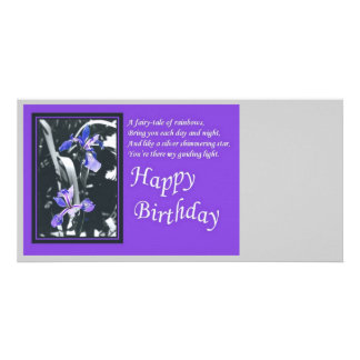 Fairytale of Rainbows Birthday Wishes Card