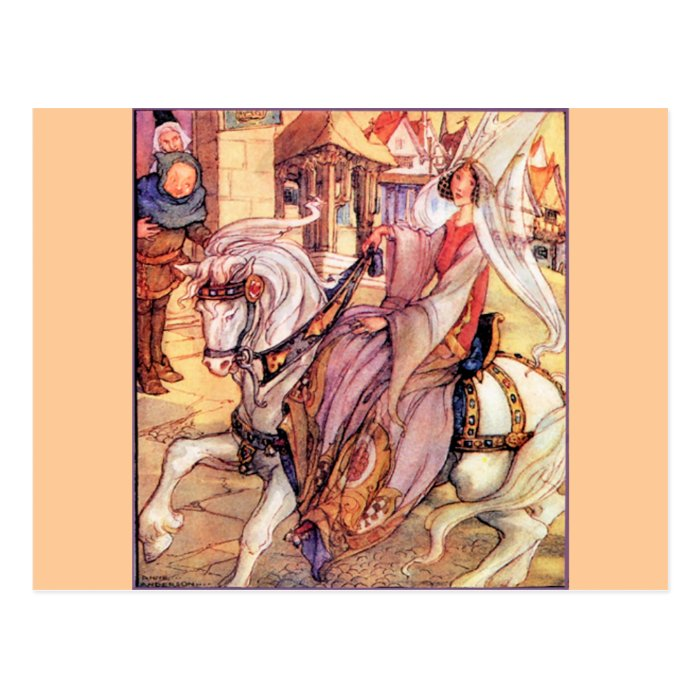 Fairytale Postcard