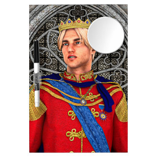 Fairytale Prince Dry Erase Board With Mirror