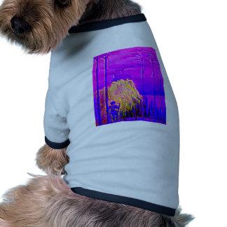 fairytale prince woodsman mountain castle dog t shirt