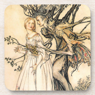 Fairytale Princess and Tree Elf Coasters