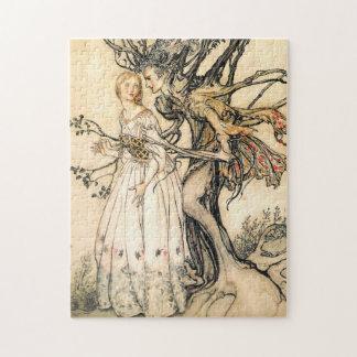Fairytale Princess and Tree Elf Puzzle