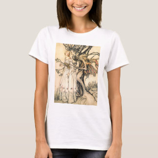 Fairytale Princess and Tree Elf T-shirt