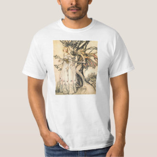 Fairytale Princess and Tree Elf T-shirt