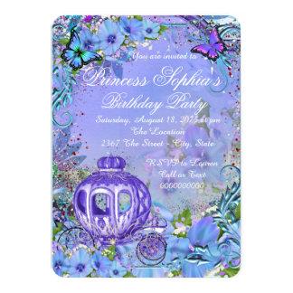 Fairytale Princess Birthday Party Card