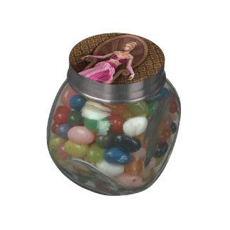 Fairytale Princess Jelly Belly Candy Jar