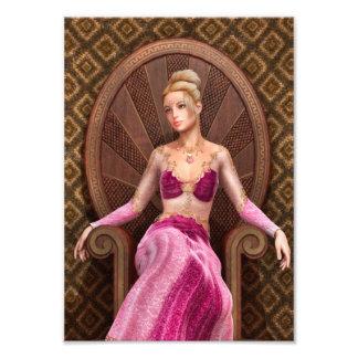 Fairytale Princess Photo Print