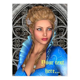 Fairytale Princess Postcard