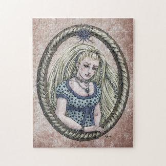 """Fairytale """"Rapunzel"""" Fantasy Art Puzzle"""