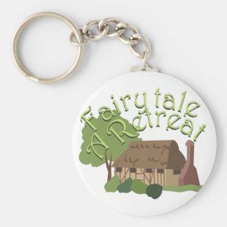Fairytale Retreat Basic Round Button Keychain