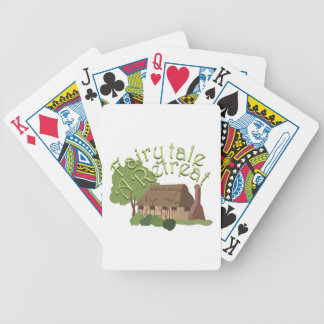Fairytale Retreat Bicycle Playing Cards