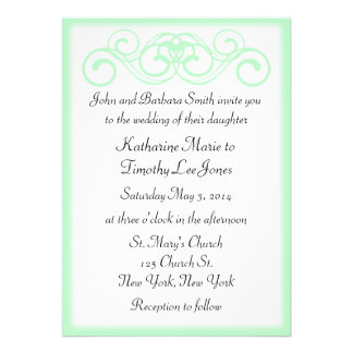 Fairytale Scroll Wedding Custom Announcement