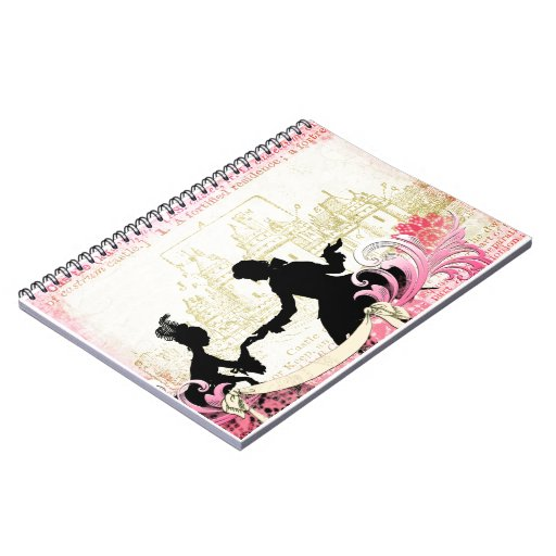 Fairytale Silhouettes & Castle No. 1 Spiral Note Book