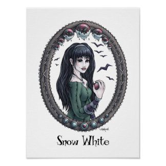"Fairytale ""Snow White"" Art Poster - Choose Size"