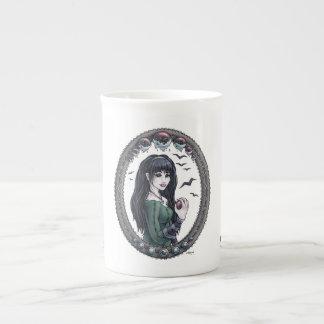 """Fairytale """"Snow White"""" Fantasy Art Bone China Mug"""