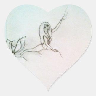 Fairytale Heart Sticker