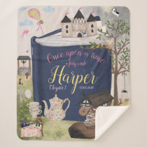Fairytale Storybook Personalized Blanket