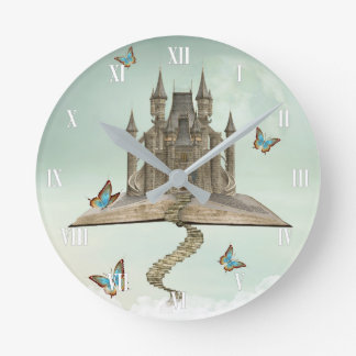 Fairytale Storybook Wall Clock
