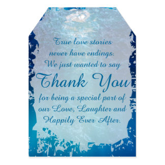 Fairytale Theme Thank You Tags Card
