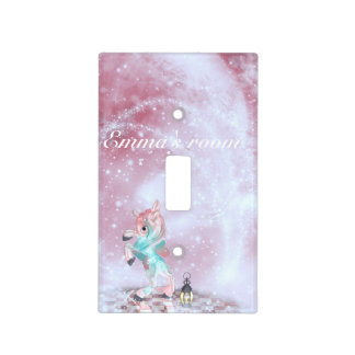 Fairytale Unicorn Light Switch Cover