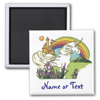 Fairytale Unicorn Fridge Magnets