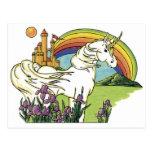 Fairytale Unicorn Postcard
