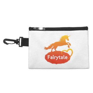 Fairytale Unicorn with Love Accessory Bag