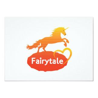 Fairytale Unicorn with Love Card